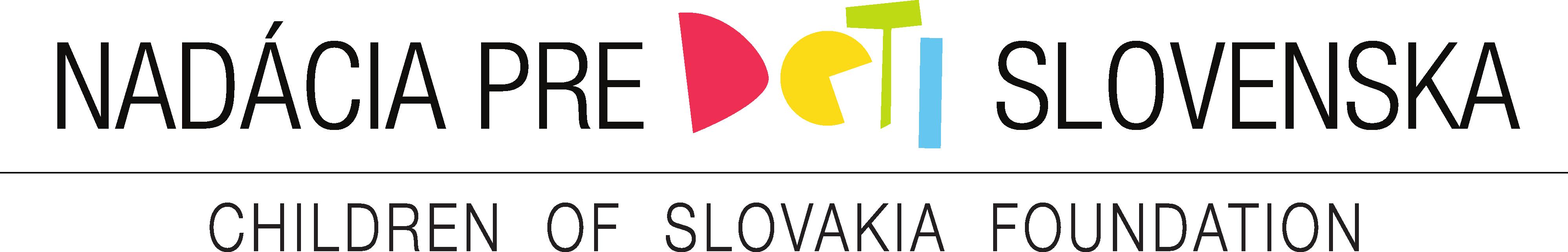 Výsledok vyhľadávania obrázkov pre dopyt nadacia pre deti Slovenska